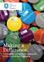 Making a Difference booklet cover for University of Sheffield outreach programmes