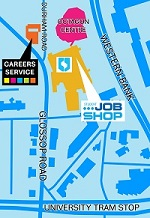 Careers map