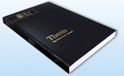 binding for dissertations Dissertation and thesis binding preparation of documents for binding: 1 produce the copies of the document to be bound as we do not offer any printing services.