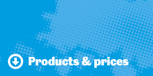 Products & Prices Header