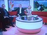 Dominic McHugh on BBC Breakfast News