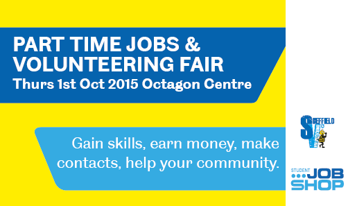 Part-Time Jobs and Volunteering Fair