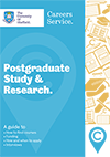 Post graduate study and research