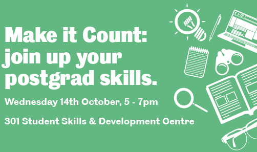 Make it Count: Join up your Postgrad Skills