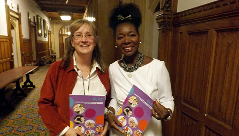Helen Woolley Launches Play Report With Baroness Floella