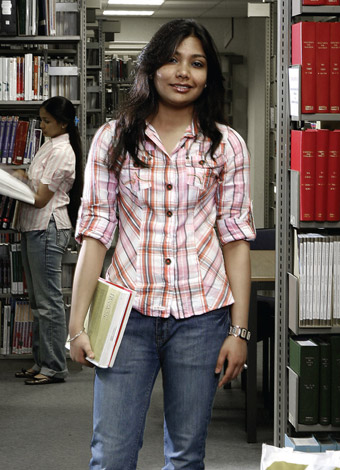Archana Singh, postgraduate in the School of Clinical Dentistry