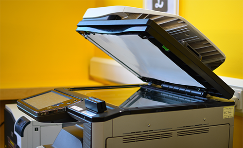 Picture of printer