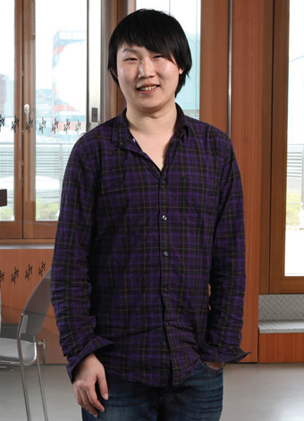 Yiding Zhao, postgraduate student in the School of English