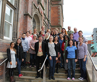 Group photo of Music Psychology students