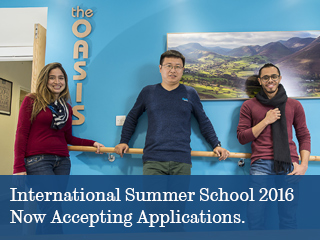 International Summer School 2016 Promotional Image