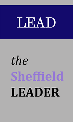 Image of the Sheffield Leader logo