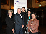 Speakers at South Yorkshire Teaching Partnership launch