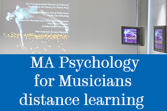MA Psychology for Musicians