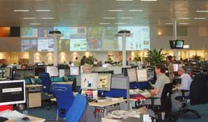 The Daily Telegraph's new newsroom in Victoria