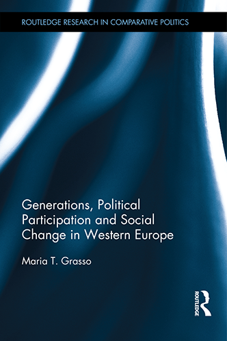 Picture of the book cover for Generations, Political Participation and Social Change in Western Euro