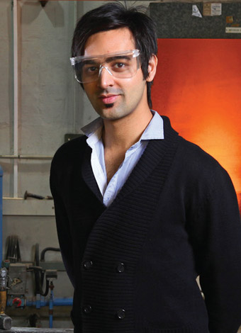 Momin Saeed Shah, postgraduate student in the department of Materials Science