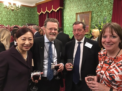 Susanna Chiu, Professor Sir Keith Burnett, The Rt Hon Lord Blunkett, Professor Shearer West.