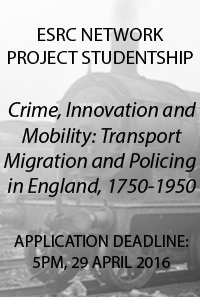 Crime, Innovation & Mobility tile.
