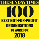 The Sunday Times 100 best not-for-profit organisations to work for 2017