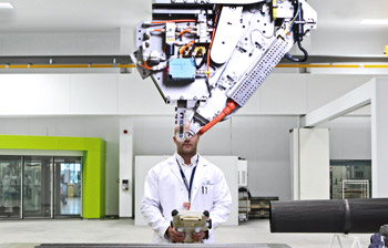 Innovation at the Advanced Manufacturing Research Centre with Boeing