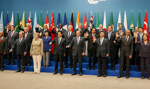 world leaders at the G20 Australia