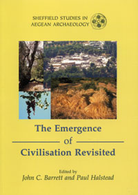 The Emergence of Civilisation Revisited