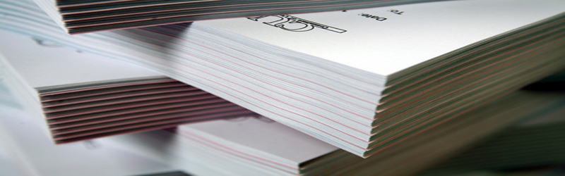Picture of stacks of paper