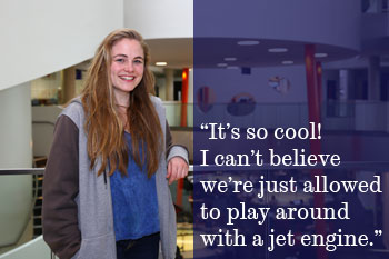 Charlotte Kiely student quote