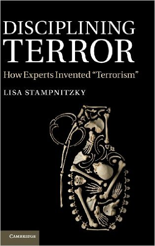 Book cover of disciplining terror