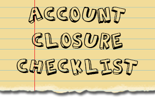 account closure