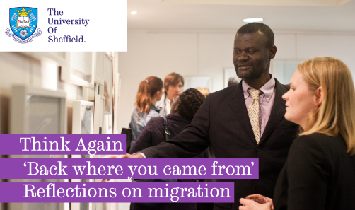 Reflections on migration by people seeking sanctuary in Sheffield