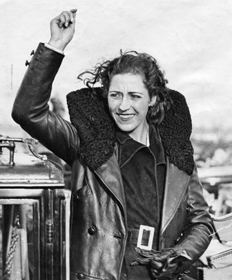 Amy Johnson. Photography courtesy of the Hull Daily Mail