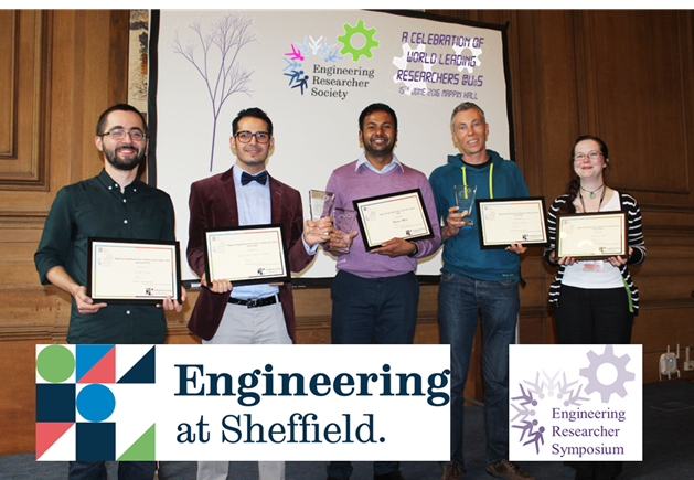 Enineering Researcher Symposium winners 2016