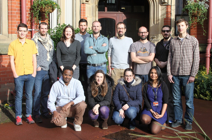 Ton lab group members