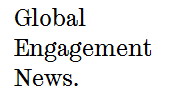 Global Engagement News logo