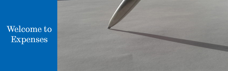 Pen casting a shadow