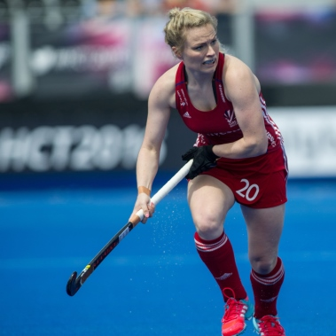 Hollie Webb - Photo credit GB Hockey