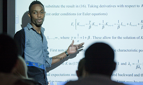 Photo of PhD student Kemar Wyatt