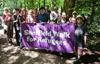 Walk for refugees