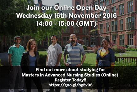 Online Open Day Nov 16