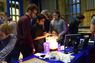 The Researchers Night attracted visitors of all ages and interests