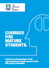 Image of 2017 mature students brochure