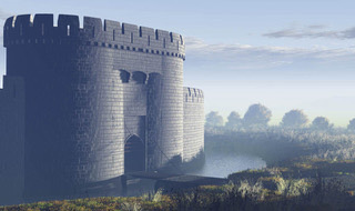 A reconstruction of Sheffield Castle