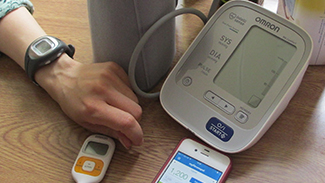 Image of health self-monitoring equipment