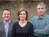 Dr Mike Croucher, Dagmar Divjak and Dr Petar Milin