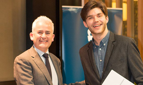 Sheffield Aerospace Engineering student, Liam Mullen: Guardian Journey of the Future award winner