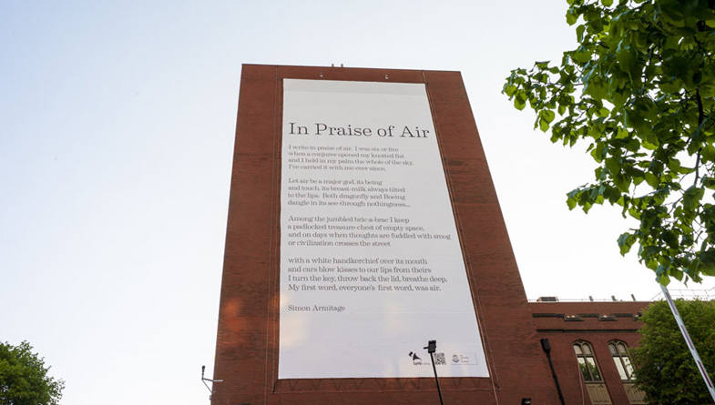 The Catalytic Poem at the University of Sheffield