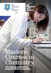 Masters brochure cover