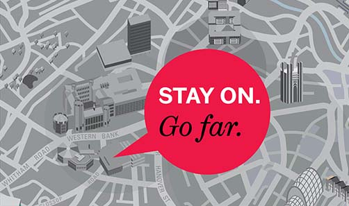 Image of Stay On, Go Far logo
