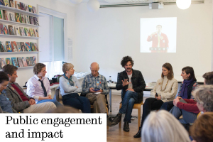 Find out about our impact and public engagement activities